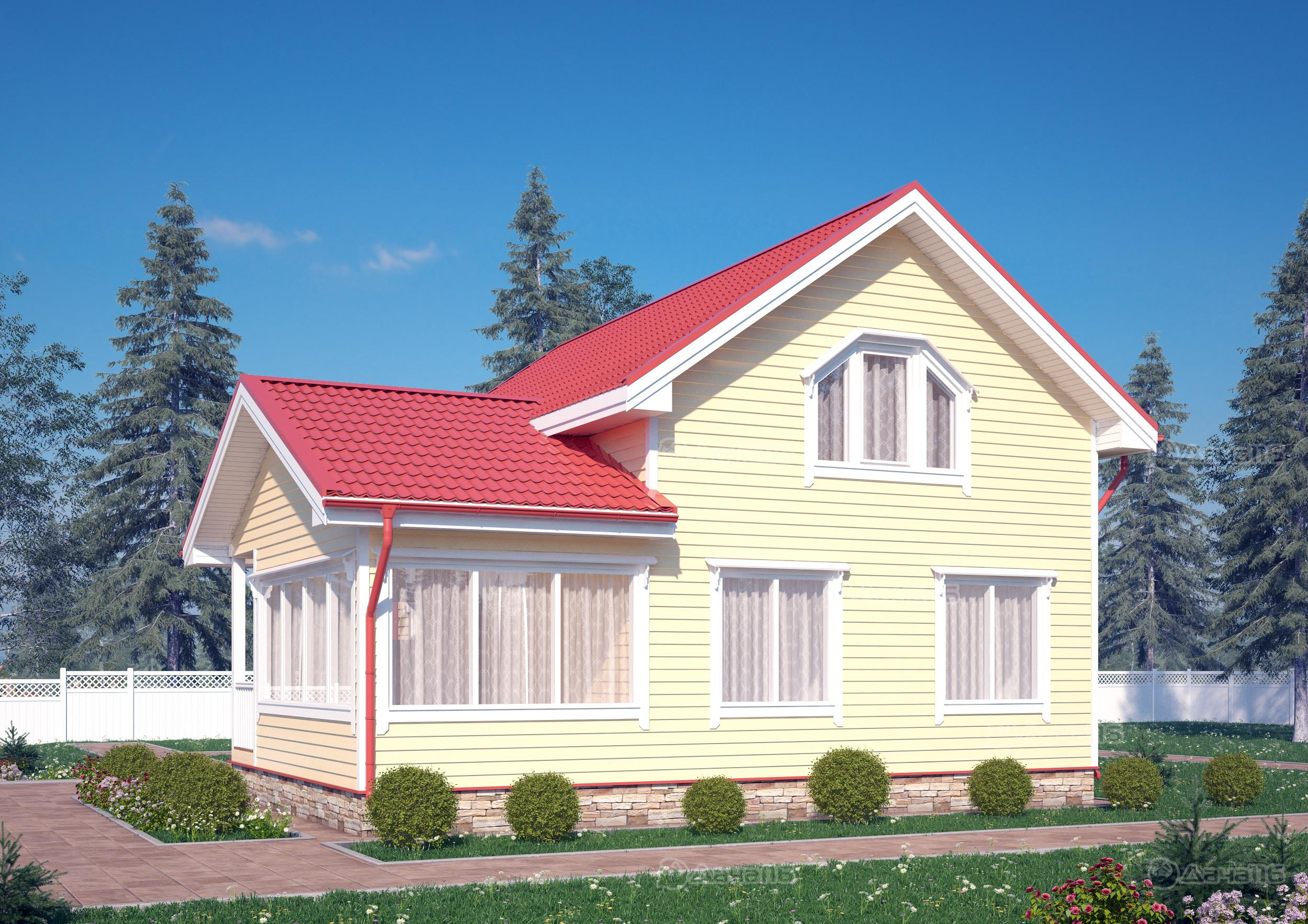 Дачные дома, домики, беседки - Застрой ДВ